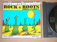 CD / DARRAS & LEROUX / ROCK & ROOTS / / BON ETAT