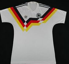 1988-1990 Alemania Occidental Adidas Home Football Shirt (talle L)
