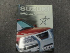 1999 Suzuki Genuine Accessories Guide Manual FACTORY OEM BOOK 99 WRITING .