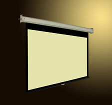 "92"" 16 9 HD MOTORIZED ELECTRIC REMOTE PROJECTOR SCREEN"