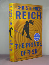 1st, signed by author, The Prince of Risk by Christopher Reich (2013)