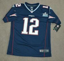 NWT Tom Brady New England Patriots Nike Super Bowl LIII NFL Jersey Youth L 14-16