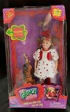 Dr. Seuss Cindy Lou Who w/ Max the Dog Nib from Jim Carrey Grinch Movie