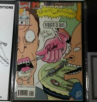 Beavis and Butthead Comics First Issue Signed & Sealed Legends & Lore 1689/5000