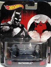 HotWheels RETRO Batman VS Superman BATMOBILE leghe reale Rider Pneumatici