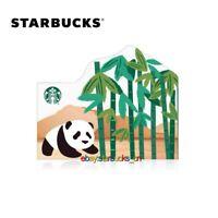 Starbucks card 2020 China Panda Bamboo Forest Gift Card Pin Intact