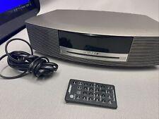 New listing Bose Wave Music System Cd Player Am Fm Clock Radio Remote Awrcc1 Tested