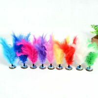 1 Pc Indoor/Outdoor Portable Colorful Feather Chinese Foot Sports Shuttlecock