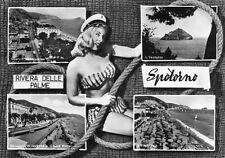 Spotorno, Savona - Pin-up, Vedutine - Viaggiata 1963 - A746I