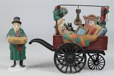 Dept 56 Heritage Village 'Chelsea Market Curosities Monger & Cart #5827-0 In Box