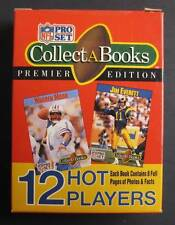 1990 COLLECT-A-BOOKS PRO SET FOOTBALL SEALED SERIES 3 COMPLETE SET MOON GOERGE