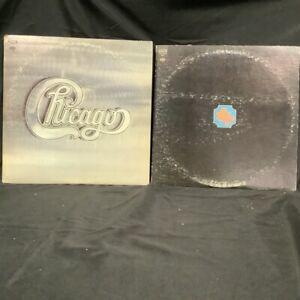 2 CHICAGO Vinyl Record LP Lot - S/T TRANSIT AUTHORITY
