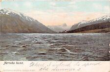 NORDLAND NORWAY NARVIKS HAMN-AXEL ELIASSONS PUBL POSTCARD 1905