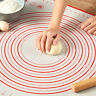 Chic Rolling Silicone Baking Mat Dough Kneading Cooking Pad Oven Liner Non-Stick