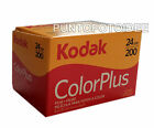 RULLINO FOTOGRAFICO KODAK COLOR PLUS 35mm 200/24 - PELLICOLA KODAK Scadenza 2018
