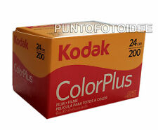 RULLINO FOTOGRAFICO KODAK COLOR PLUS 35mm 200/24 PELLICOLA KODAK Scadenza 04.18