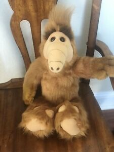 """Vintage ALF 18"""" Plush Stuffed Animal Doll Toy Coleco 1986 Alien Productions"""