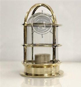 SOLID BRASS MOUNT BULKHEAD LIGHT FIXTURE NAUTICAL STYLE NEW 1 PS