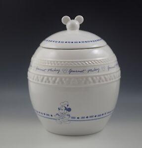 DISNEY GOURMET MICKEY COOKIE JAR