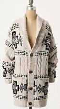 201. Pendleton Harding Oversized Sweater For Anthropologie Cardigan M