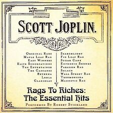NEW Rags To Riches - The Essential Hits of Scott Joplin (Audio CD)