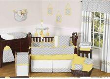 JoJo Design Crib Bedding Set LOT Comforter Sheets Pillow Valance Skirt Blankets