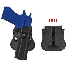 Colt 1911 M1911 RH Pistole & Magazin Paddel Jagd Holster schwarz