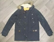 NEW BOYS BJK CAMOUFLAGE PADDED HOODED WINTER JACKET 7-13 YEARS