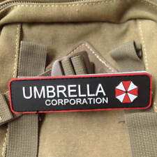 Umbrella Corporation Rubber PVC Badge Military Tactical Patch Special Morale 3D