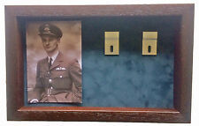 Large RAF Medal Display Case With Photograph and 5+ Medals