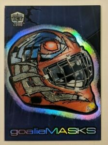 2000-01 Pacific Dynagon Ice Goalie Mask - John Vanbiesbrouck #9