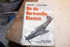 AVIATION - UN DU NORMANDIE-NIEMEN - ROGER SAUVAGE
