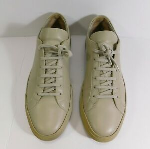 COMMON PROJECTS Achilles Low in Grey Leather ITALY MEN'S SIZE: 44 100% AUTHENTIC