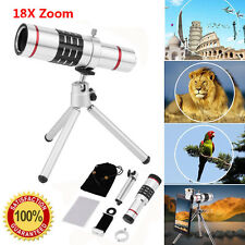 18x Telescope Zoom Optical Telephoto Lens For iPhone 6s 7 Samsung Galaxy S7 EA