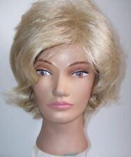 PAULA YOUNG Blond Hair Wig Short Blond Hair Lots of Body & Layered New