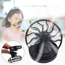 Sun Solar Powered Cooling Fan Clip-On Mini Solar Panel Cell Beach Camping Cooler