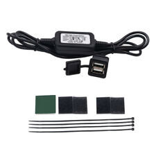 12V Waterproof Dual USB Motorcycle Mobile Phone Power Supply Port Socket Charger