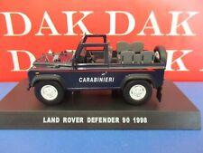 Die cast 1/43 Modellino Auto Carabinieri Land Rover Defender 90 aperto