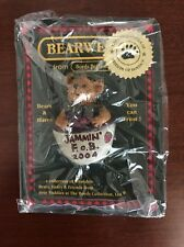 Boyds Bears, Bearie, Jammin' F.o.B. 2004 Pin, New In Package