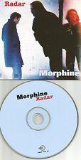 MORPHINE Radar RARE CARD SELLEVE Europe Made PROMO DJ CD Single USA SELLER 1995