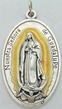 """MRT Nuestra Señora de Guadalupe Medalla Grande 1.5"""" Regalo de Italia"""