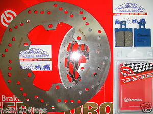 Disco Freno BREMBO + Pastillas Traseros Ducati 851 Spii 90>791