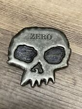 Skull Belt Buckle Zero Skateboards Metal