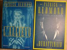 Lotto 2 PATRICK REDMOND: L'allievo + Il burattinaio, Mondadori 1999 2000