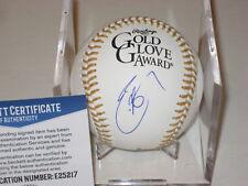 ERIC HOSMER (Padres) Signed Official GOLD GLOVE Baseball w/ Beckett COA