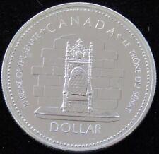 Canada Silver Proof Dollar 1977 Queen Elizabeth Jubilee  .500 Hard Plastic Case