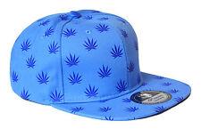 Premium Cap [Purple Leaf] Snapback ha cappuccio canapa WEED marijuana POT HIP HOP PR
