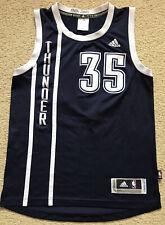 08 #35 KEVIN DURANT Oklahoma Thunder Swingman Basketball Jersey Adidas Mens S