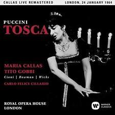 Maria Callas - Puccini: Tosca (Covent Garden, 24/01/1964) (NEW 2CD)