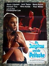 JUNGFRAU UND DIE PEITSCHE / EUGENIE * A1-Filmposter - JESS FRANCO / LEE 1970